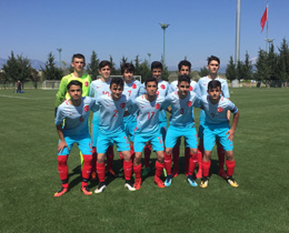 U14s draw with Azerbaijan: 1-1