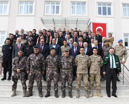 TFF visits Kilis to Show Support for Olive Branch Operation