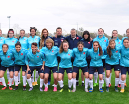 Womens U19s lose to Denmark: 5-0