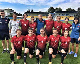 Womens U19s friendly matches against Slovakia