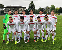 U15s lost against Japan: 5-3