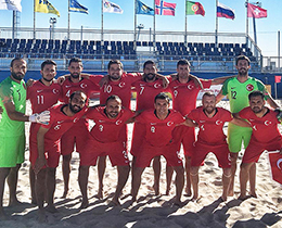 Beach Soccer National Team beat Germany: 6-3