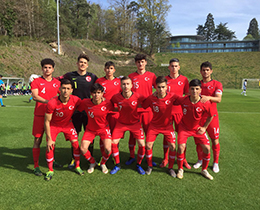 U17s lost against France: 3-1