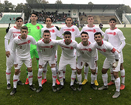 U16s lost against Poland: 1-0