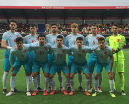 U19s draw against Denmark: 1-1