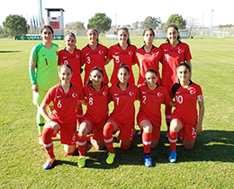 Womens U17s beat Russia: 6-1