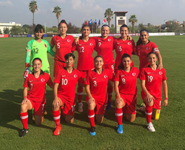 Womens U19s lost against Hungary: 2-0