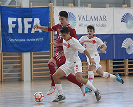 Futsal U19s lost against Hungary: 3-2