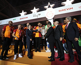Galatasaray win Spor Toto Super League 2018-2019 Season