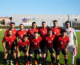 U20s lost against Canada: 1-0