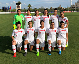 Womens U19s draw with Kosovo: 2-2