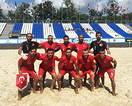 Beach Soccer National Team lost against Lithuania: 2-0