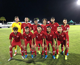 U17s lost against USA: 1-0