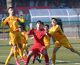 U14 National Team draw with Republic of North Macedonia: 2-2