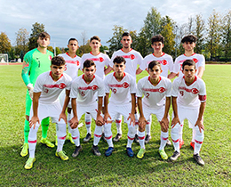 U17s beat Latvia: 2-0