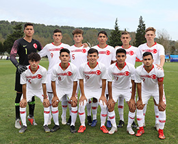 U17s lost against Senegal in UEFA ASSIST Tournament: 2-0