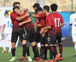 U16s beat Kosovo in Mercedes-Benz Aegean Cup