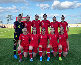 Womens A National Team beat Malta: 2-1