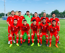 U18s draw with Greece: 0-0