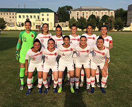 Womens A National Team draw with Moldova: 0-0