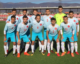 U18s beat FYR Macedonia: 2-1