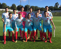 U19s lose to Portugal: 4-0
