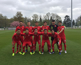 U17s lost against France: 1-0