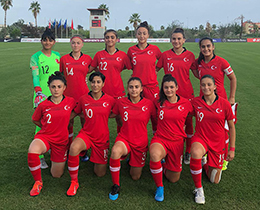 Womens U19s lost against Denmark: 6-0