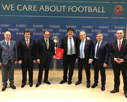 TFF submit declaration of interest to bid for EURO 2024