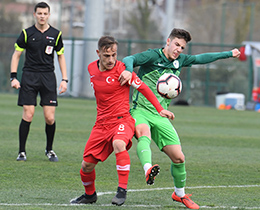 U19s lost against Slovenia: 1-0