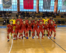 Futsal National Team lost against Turkmenistan: 5-1