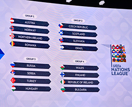 2020-2021 UEFA Nations Leauge draw made