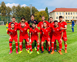 U18s beat Lithuania: 4-2