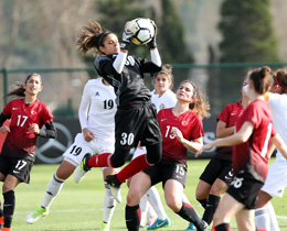 Womens A National Team lose to Jordan: 2-1