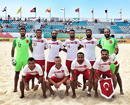 Beach Soccer National Team lost against Portugal: 9-5