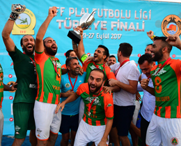 TFF Plaj Futbolu Liginde şampiyon Land of Legends Theme Park Alanyaspor