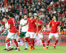Turkey beat Republic of Ireland: 1-0