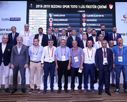 Spor Toto 1. League 2018-2019 season fixtures drawn