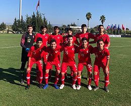 U15s lost against Russia: 3-2