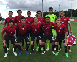 U17s lose to England: 3-2