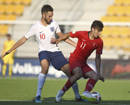 U19s lost against England: 3-2