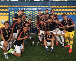 U17s win Viktor Bannikov Tournament